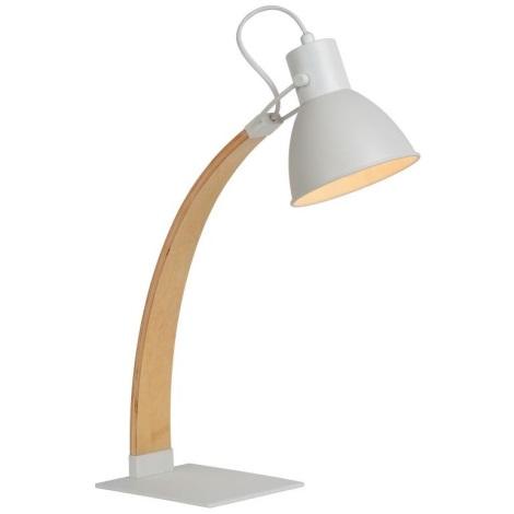 Lucide 03613/01/31 - Lampa de masa CURF 1xE27/60W/230V alb
