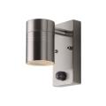 Lucide 14866/05/12 - LED Lampă exterior cu senzor ARNE-LED 1xGU10/5W/230V crom mat