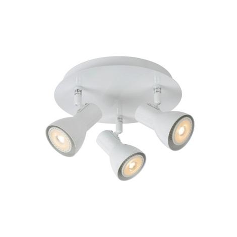 Lucide 17942/15/31 - Lampa spot LED LAURA-LED 3xGU10/5W/230V alba