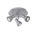 Lucide 17942/15/36 - Lampa spot LED LAURA-LED 3xGU10/5W/230V gri