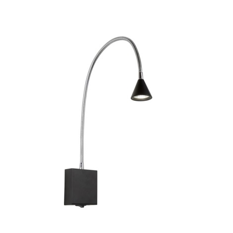Lucide 18293/03/30 - LED Aplică perete spot BUDDY LED/3W/230V negru
