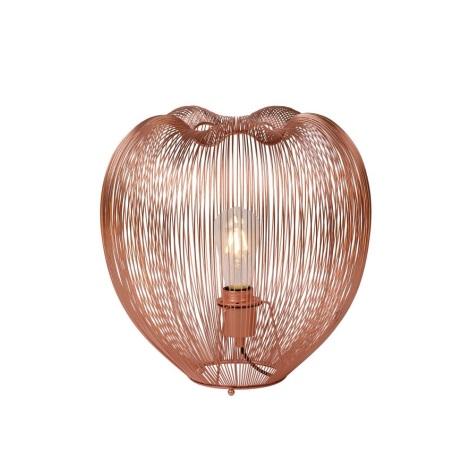 Lucide 20501/35/17 - Lampa de masa WIRIO 1xE27/60W/230V cupru 35 cm