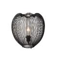 Lucide 20501/35/30 - Lampa de masa WIRIO 1xE27/60W/230V negru 35 cm
