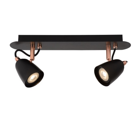 Lucide 26956/10/17 - Lampa spot LED RIDE-LED 2xGU10/5W/230V cupru