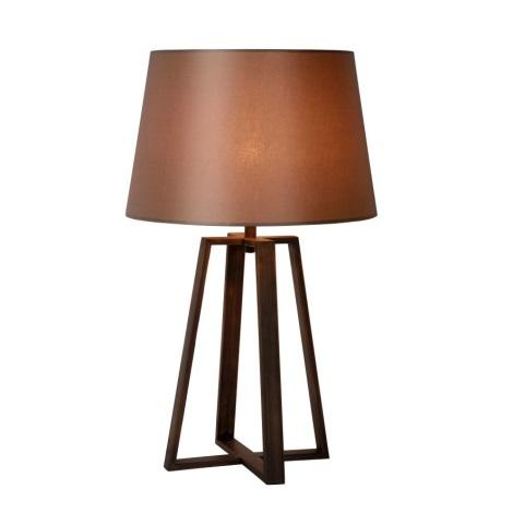 Lucide 31598/81/97 - Lampa de masa COFFEE 1xE27/60W/230V maro