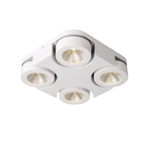Lucide 33158/19/31 - Lampa spot LED MITRAX 4xLED/5W/230V alba