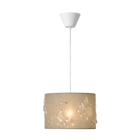 Lucide 34407/30/41 - Lampa suspendata SPILTI 1xE27/60W/230V gri