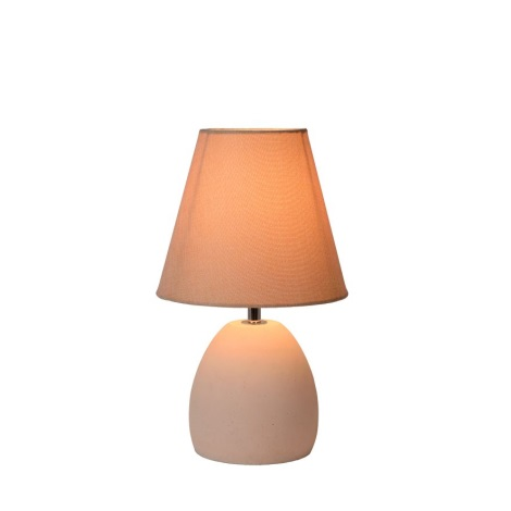 Lucide 34502/81/38 - Lampa de masa SOLO 1xE14/40W/230V alb