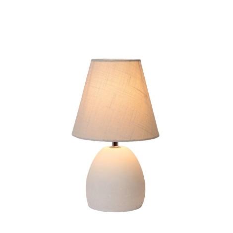 Lucide 34502/81/68 - Lampa de masa SOLO 1xE14/40W/230V alba