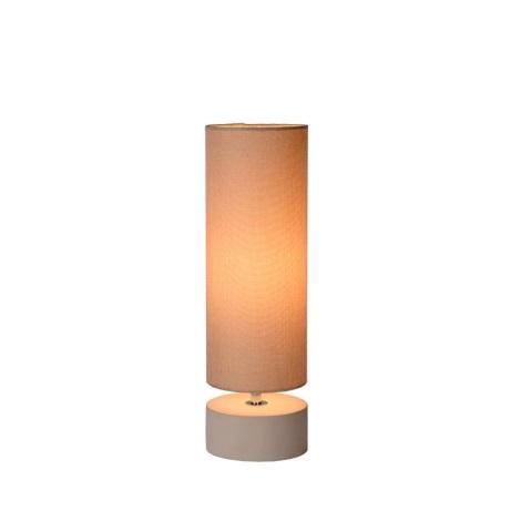 Lucide 34513/81/38 - Lampa de masa MANDY 1xE14/40W/230V bej