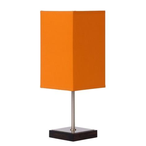 Lucide 39502/01/53 - Lampa de masa DUNA-TOUCH 1xE14/40W/230V portocaliu