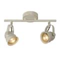 Lucide 77974/10/21 - Lampa spot LED CIGAL 2xGU10/5W/230V alb antic