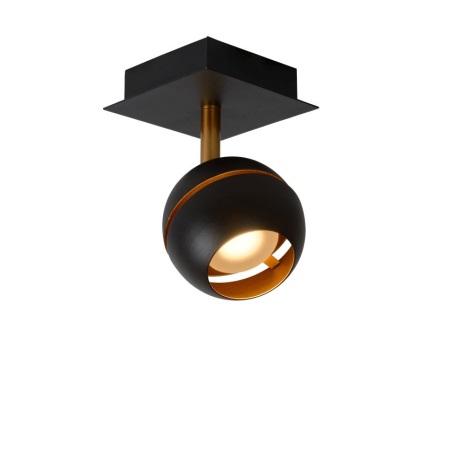 Lucide 77975/05/30 - LED lampa spot BINARI 1xLED/5W/230V negru