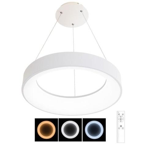 Lustră LED dimabilă pe cablu NEST LED/40W/230V 3000-6500K albă