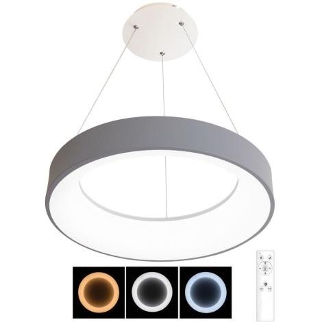 Lustră LED dimabilă pe cablu NEST LED/40W/230V 3000-6500K gri