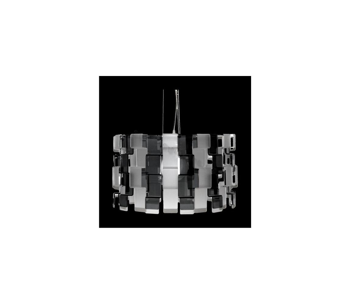 Luxera 18041 - Lustra cu cablu ZIGZAG 1xE27/100W/230V