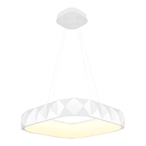 Luxera 18413 - LED Lustră pe cablu dimmabilă CANVAS 1xLED/38W/230V