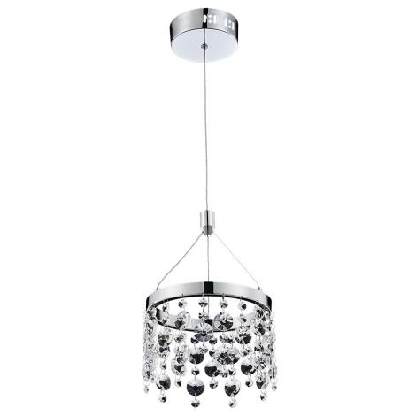 Luxera 64393 - LED Lustră pe cablu de cristal ERATTO LED/11W/230V