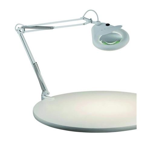 Markslöjd 100852 - Lampă de masă cu lupă FAGERNES 1xT5/22W/230V