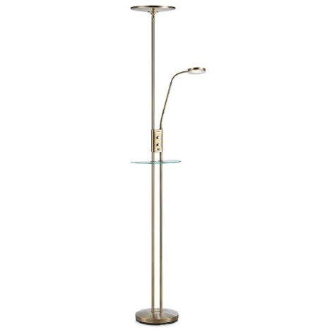 Markslöjd 107009 - LED Lampadar dimmabil FRIEND LED/18W/230V + LED/5W