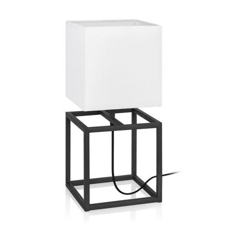 Markslöjd 107306 - Lampă de masă CUBE 1xE27/60W/230V
