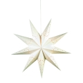 Markslöjd 700320 - Decorațiune de crăciun SOLVALLA 1xE14/25W/230V alb 75 cm