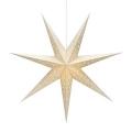 Markslöjd 704420 - Decorațiune de crăciun SOLVALLA 1xE14/25W/230V auriu 75 cm