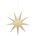 Markslöjd 704421 - Decorațiune de crăciun SOLVALLA 1xE14/25W/230V auriu 100 cm