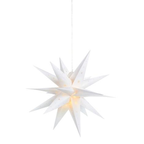 Markslöjd 704560 - LED Decorațiune de crăciun VECTRA 12xLED/0,436W/230/4,5V alb 60 cm