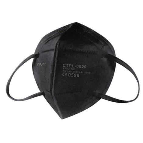 Mască de protecție respiratorie Media Sanex FFP2 NR / KN95 neagră 1 buc.
