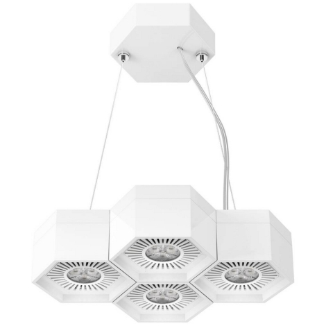 Osram - LED Lustră pe cablu COMBILITE-P 4xLED/4W/230V 3000K
