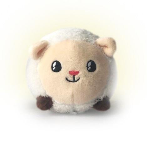 PABOBO - Animăluț luminos SHAKIES sheep 2xCR2032