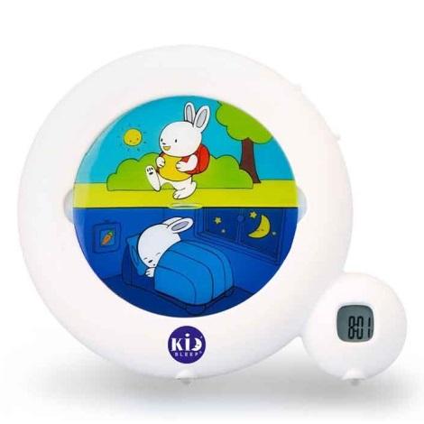 PABOBO - Ceas cu alarmă de antrenament KID´SLEEP 3xAA alb