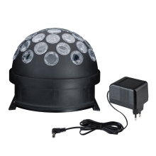 Paulmann 3297 - LED RGB glob disco LED/4W/230/12V