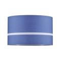Paulmann 60324 - Lustră pe cablu TESSA 1xE27/60W/230V albastru