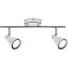 Paulmann 66554 - LED Lampă spot 2 SIMPLE 2xGU10/3,5W/230V