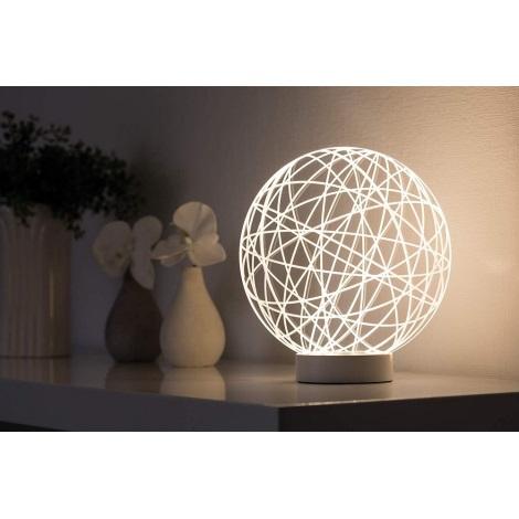 Paulmann 79533 - Lampă de masă LED WOOL LED/3W/230V