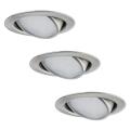 Paulmann 92089 - SET 3x LED Lampă încastrată 3xLED/4,2W/230V