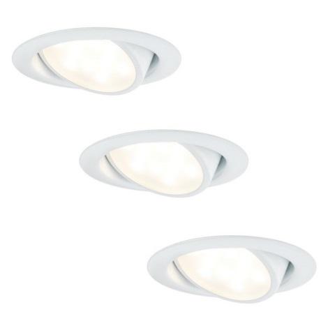 Paulmann 92091 - SET 3x LED Lampă încastrată 3xLED/4,2W/230V