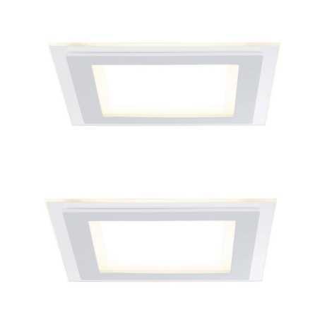 Paulmann 92706 - SET 2xLED/7,5W Lampă încastrată dimmabilă DECODICE 230V