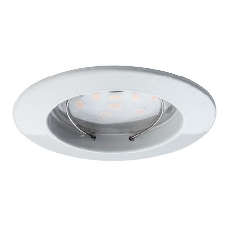 Paulmann 92754 - LED/6,8W IP44 Lampă încastrată baie COIN 230V