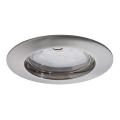 Paulmann 92756 - LED/6,8W IP44 Lampă încastrată baie COIN 230V