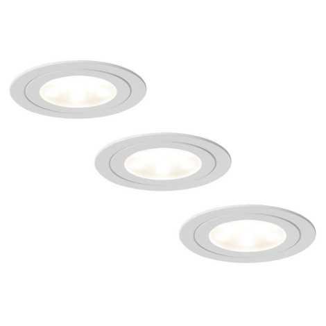 Paulmann 93569 - SET 3x Lampă încastrată LED 3xLED/5W/230V