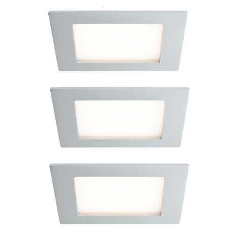 Paulmann 93758 - SET 3x Iluminat scară LED AREAL 3xLED/2W/230V