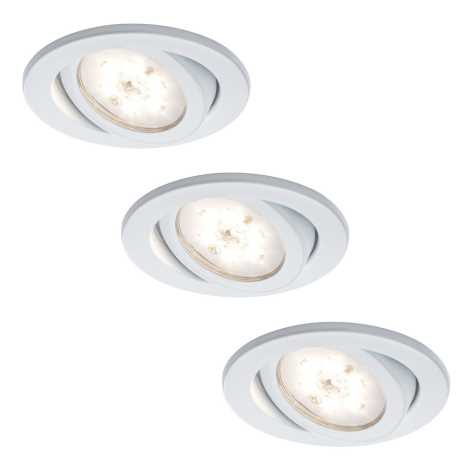 Paulmann - Nice Price 3892 - SET 3x LED Lampa incastrata 3xLED/3W/230V