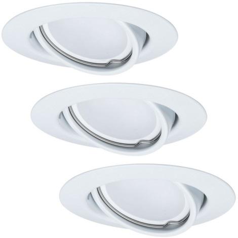 Paulmann - TIP 3975 - SET 3xLED/6,5W Lampă încastrată dimmabilă 230V