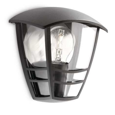Philips 15387/30/16 - Corp de iluminat perete exterior MYGARDEN CREEK 1xE27/60W/230V