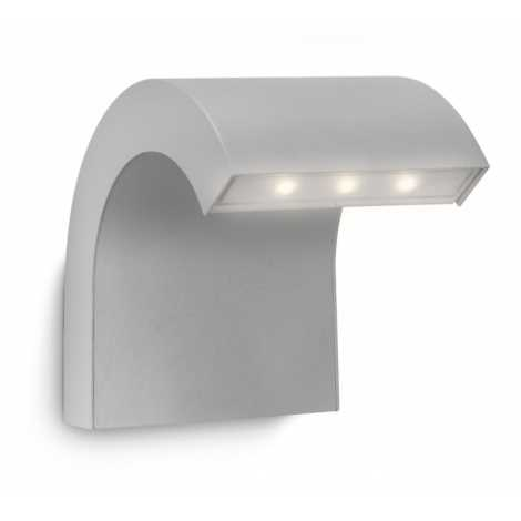 Philips 16355/87/16 - Corp de iluminat LED exterior MYGARDEN RIVERBANK 3xLED/1W