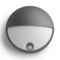 Philips 16456/93/P3 - LED exterior Corp de iluminat cu senzor MYGARDEN CAPRICORN LED/6W
