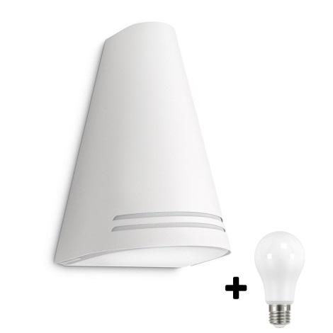 Philips 17226/31/16 - LED Corp de iluminat perete exterior MYGARDEN WOODS 1xE27/15W